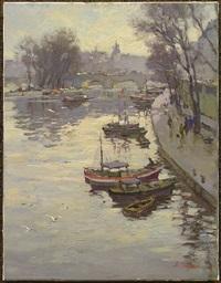 la seine au pont neuf by valery sekret