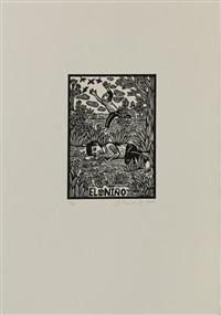 la loteria (portfolio w/109 works) by artemio rodriguez