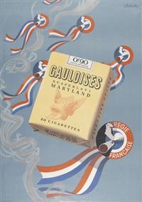 gauloises (poster) by italo de grandi
