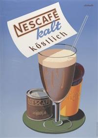 nescafé (poster) by italo de grandi