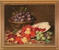 bodegón de frutas by léon hubert