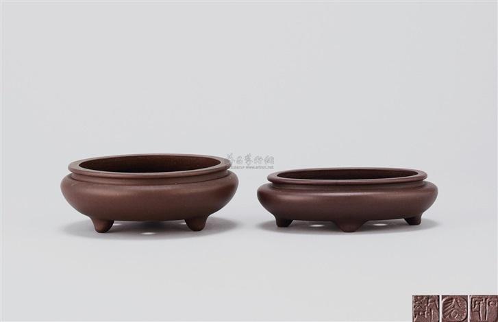 花盆 (一对) flowerpots set of 2 by pei shimin