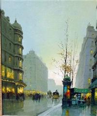 avenue de l'opera by charles janin