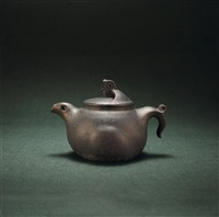 teapot in the style of a bird by xu xiutang