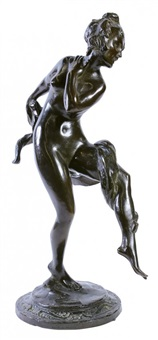 nude dancer by robert ingersoll aitken