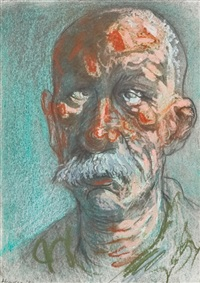 old man of bosnia by peter howson