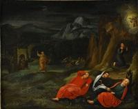 kristus på oljeberget by flemish school (16)