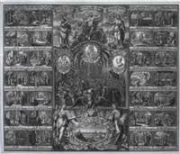 jubiläumsblatt der augsburgischen konfession anno 1730 by johann august corvinus