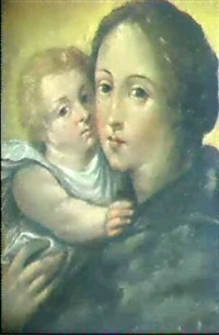 madonna mit kind by pierre mabuse