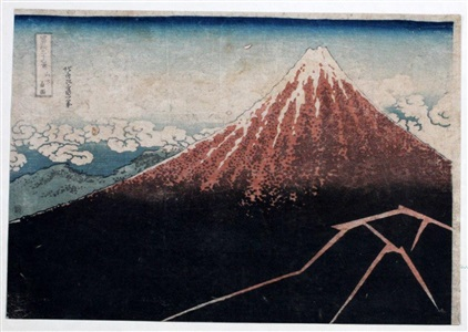 artwork by katsushika hokusai