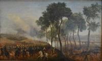 petite guerre à monchy, duc d'orléans, compiègne by prosper baccuet