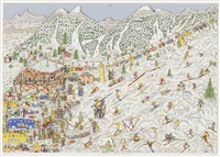 ski weekend by james rizzi