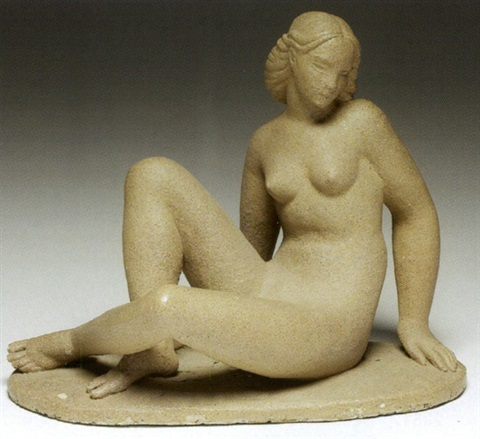nude figure by waylande gregory