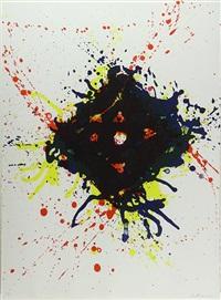untitled (sf-350) by sam francis