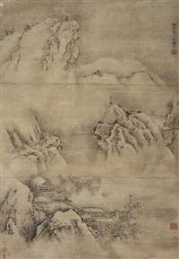 landscape by leng qian