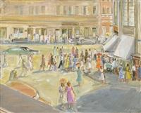 gorkij street by alexandre arkadevich labas
