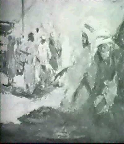 bedouin scene by karl johannes andreas adam dørnberger