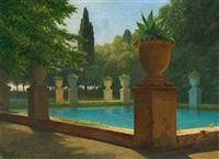 laghetto azzuro i villa d estes have by wilhelm pacht