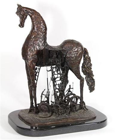 Trojan horse by Salvador Dalí on artnet