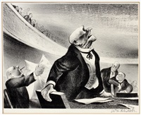 a debate by william gropper