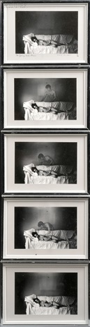 the young girls dream in five parts by duane michals