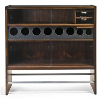 sideboard & bar by poul heltborg and erik buck
