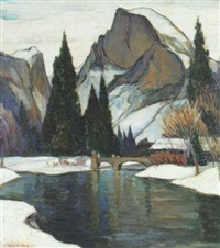 winter yosemite by rowena meeks abdy