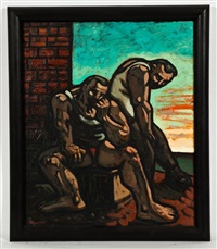 the sink by peter howson
