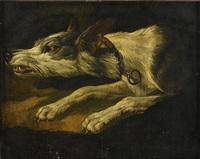 skällande hund by frans snyders
