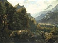 landschaft im haslital by paul rötter