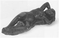 liegender weiblicher akt by arthur tigram abeljanz