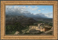 montañas de montserrat by lluis rigalt farriols