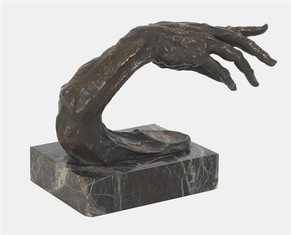 hand study by gustinus ambrosi