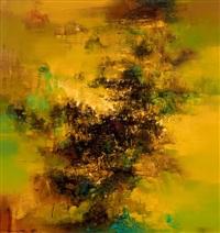中原北望气如山 (landscape) by liu jiutong
