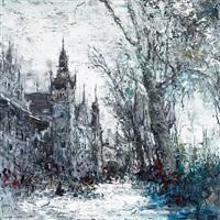 雪景上海-6 (snowscape of shanghai) by liu jiutong