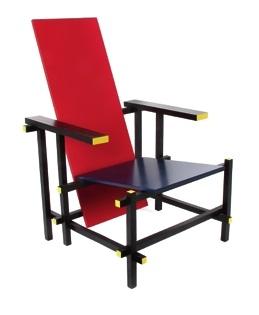rot blau stuhl by gerrit thomas rietveld