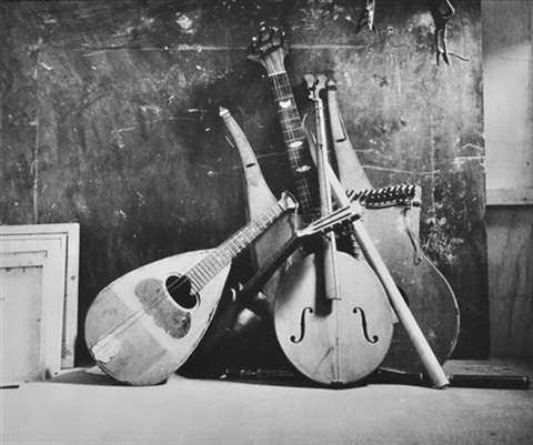 musical instruments italy by irving penn