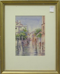 canal scene by colin cairness clinton campbell