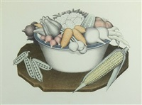 vegetables by grant wood