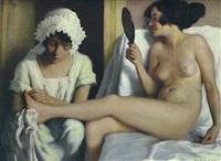 in the boudoir by karoly teuchert