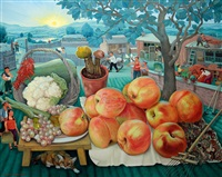 野草滩,又飘果香 (fruity) by chen shuzhong