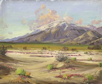 desert landscape by james arthur merriam