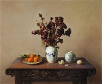 still life by liu zhongfa