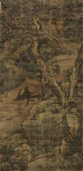 老子出关图 (landscape) by liu han