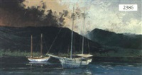 harbor scene by richard bagguley