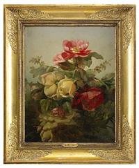 blomsterstycken by jean alexandre rémy couder