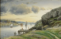 kustlandskap by frithjof smith-hald