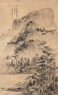 landscape by jiang ai