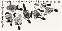 花鸟 by liang zhaotang