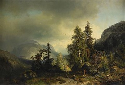 landskap düsseldorf by sophus jacobsen